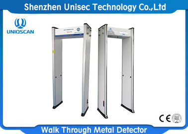 China Caminhada do varredor da temperatura corporal através do detector de metais para o hospital/lugar público distribuidor